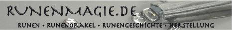 Seite über Runen, mit Runenorakel
